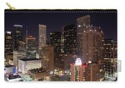 Central Houston At Night Carry-all Pouch