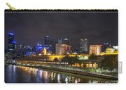 Central Melbourne Skyline At Night Australia Carry-all Pouch