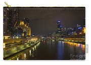 Central Melbourne Skyline In Australia Carry-all Pouch