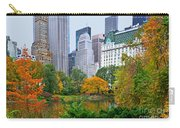 Central Park And Fifth Autumn View Carry-all Pouch