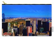 Central Park And New York City In Autumn Carry-all Pouch