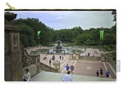 Central Park - Bethesda Fountain Carry-all Pouch