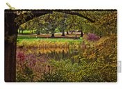 Central Park In Autumn - Nyc Carry-all Pouch