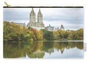 Central Park Lake Autumn Vista Carry-all Pouch