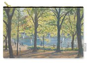 Central Park New York Carry-all Pouch by Julian Barrow