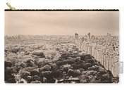 Central Park Pano Sepia Carry-all Pouch