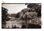 Central Park Rowing - New York City Carry-all Pouch