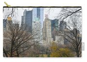 Central Park South Buildings From Central Park Carry-all Pouch