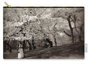 Central Park Wedding - Antique Appeal Carry-all Pouch