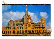 Central Railroad Of New Jersey Terminal Carry-all Pouch
