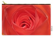 Centre Of A Rose Carry-all Pouch