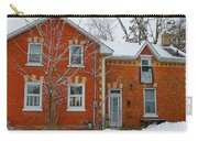 Century Home In Winter 3 Carry-all Pouch