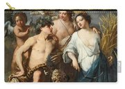Ceres Bacchus And Venus Carry-all Pouch