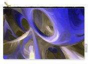 Cerulean Abstract Carry-all Pouch