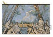 Cezanne Baigneuses 1905 Carry-all Pouch
