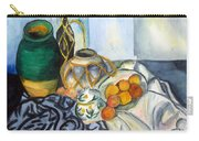 Cezanne Still Life With Apples In Watercolor Carry-all Pouch