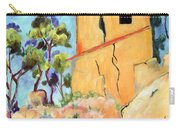 Cezanne's House With Cracked Walls Carry-all Pouch
