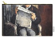 Cezanne's The Artist's Father Reading Le Evenement Carry-all Pouch