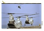 Ch-46e Sea Knight Helicopters Take Carry-all Pouch