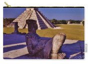 Chac Mool And Kukulkan Carry-all Pouch