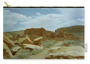 Chaco Canyon Ruins Carry-all Pouch