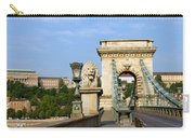 Chain Bridge In Budapest Carry-all Pouch