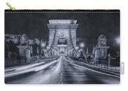Chain Bridge Night Traffic Bwii Carry-all Pouch