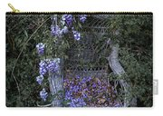 Chair And Flowers Carry-all Pouch