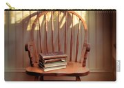 Chair And Lace Shadows Carry-all Pouch