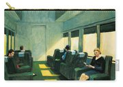 Chair Car Carry-all Pouch by Edward Hopper
