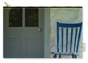 Chair On Farmhouse Porch Carry-all Pouch