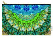 Chakra Mandala Healing Art By Sharon Cummings Carry-all Pouch