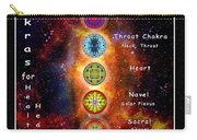 Chakras Explanation Carry-all Pouch
