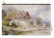 Chalet, Brunnen, Lake Lucerne Carry-all Pouch