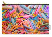 Chalk Colors Carry-all Pouch