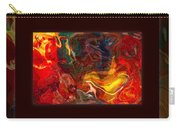 Challenges And Moments In Time Abstract Healing Art Carry-all Pouch