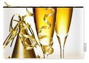 Champagne And New Years Party Decorations Carry-all Pouch