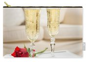 Champagne And Rose Carry-all Pouch