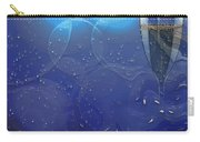 Champagne Blue  Carry-all Pouch by Liane Wright