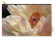 Champagne Peony Carry-all Pouch