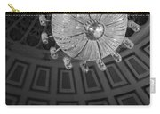 Chandelier-black And White Carry-all Pouch