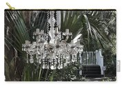 Chandelier In The Garden Carry-all Pouch