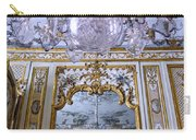 Chandelier Inside Chateau De Chantilly Carry-all Pouch