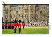 Changing Of The Guard In Front Of Parliament Building In Ottawa- Carry-all Pouch