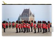 Changing Of The Guard The Citadel Quebec City Carry-all Pouch