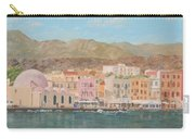 Chania Harbour Early Summer Morning Carry-all Pouch
