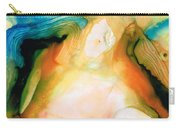 Channels - Abstract Art By Sharon Cummings Carry-all Pouch