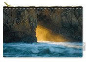 Chaos - Pfeiffer Beach Carry-all Pouch by George Buxbaum
