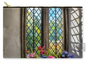 Chapel Flowers Carry-all Pouch by Adrian Evans