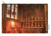 Chapel In St Severin Church Paris Carry-all Pouch